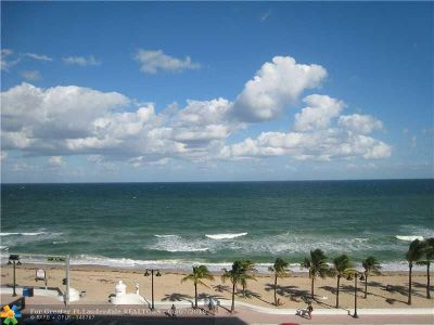 Fort Lauderdale Condo/Townhouse For Sale: 345 N Fort Lauderdale Beach Blvd #504 1/2