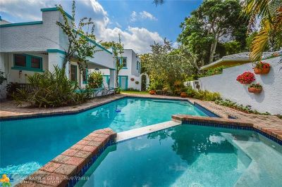 Fort Lauderdale Single Family Home For Sale: 1014 SE 8th St