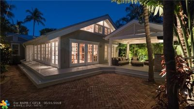 Fort Lauderdale Single Family Home For Sale: 812 SE 8th St