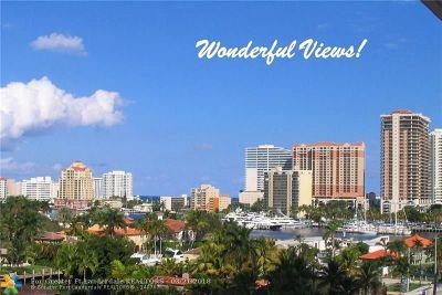Fort Lauderdale Condo/Townhouse For Sale: 2500 E Las Olas Blvd #708