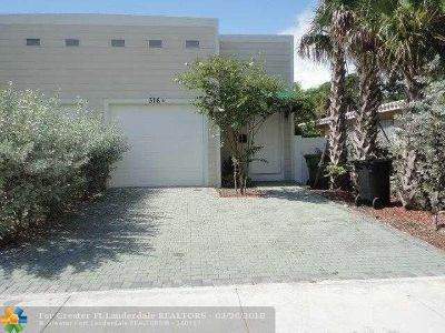 Fort Lauderdale Rental For Rent: 316 SW 16th St
