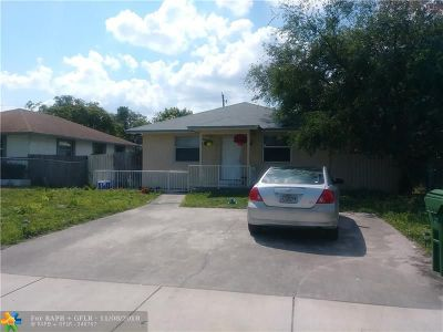 Fort Lauderdale Single Family Home For Sale: 835 NW 2nd Ave