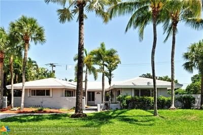 Fort Lauderdale Single Family Home For Sale: 2657 NE 34th St