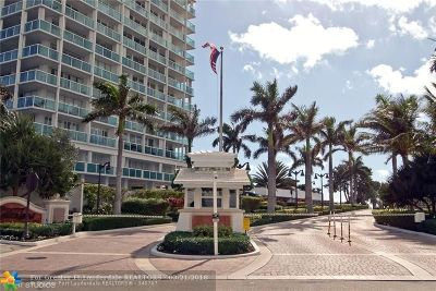 Fort Lauderdale Condo/Townhouse For Sale: 2100 S Ocean Ln #1503