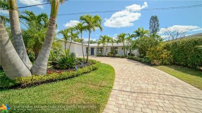 Broward County Single Family Home For Sale: 4040 NE 16th Ave