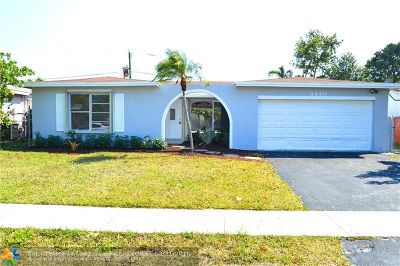 Broward County Single Family Home For Sale: 8440 NW 21st St