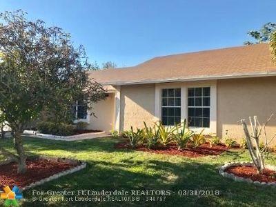Margate Single Family Home Backup Contract-Call LA