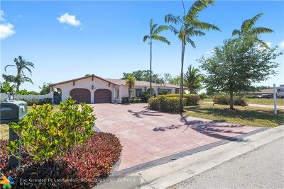Coral Springs Single Family Home Backup Contract-Call LA: 3161 NW 112th Av