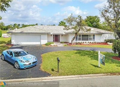 Coral Springs Single Family Home Backup Contract-Call LA: 11131 NW 24th St
