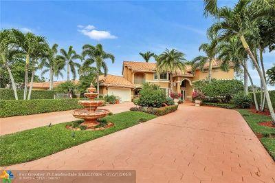 Plantation Single Family Home For Sale: 8781 N Lake Dasha Dr