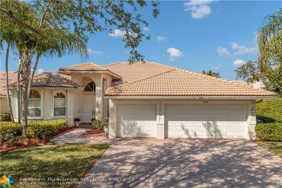 Coral Springs Single Family Home For Sale: 5058 NW 123rd Ave