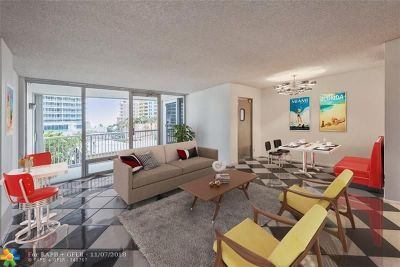 Fort Lauderdale Condo/Townhouse For Sale: 2200 NE 33rd Ave #4F