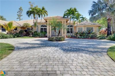 Coral Springs Single Family Home For Sale: 5655 W Leitner Dr