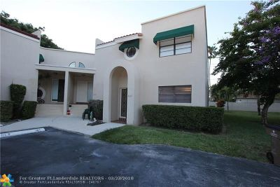 Deerfield Beach Condo/Townhouse Backup Contract-Call LA: 3651 NW 6th St #3651