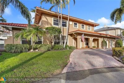 Lighthouse Point Single Family Home For Sale: 3711 NE 30th Ave
