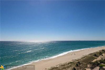 Lauderdale By The Sea Condo/Townhouse For Sale: 5200 N Ocean Blvd #1403B