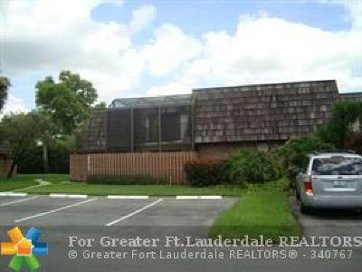 North Lauderdale Condo/Townhouse Backup Contract-Call LA: 8365 N Coral Cir #8365