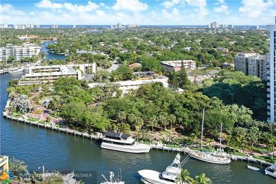 Fort Lauderdale Condo/Townhouse For Sale: 347 N New River Dr #2001