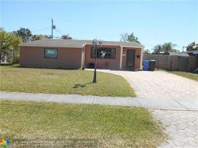 Oakland Park Single Family Home Backup Contract-Call LA: 820 NE 59th Ct