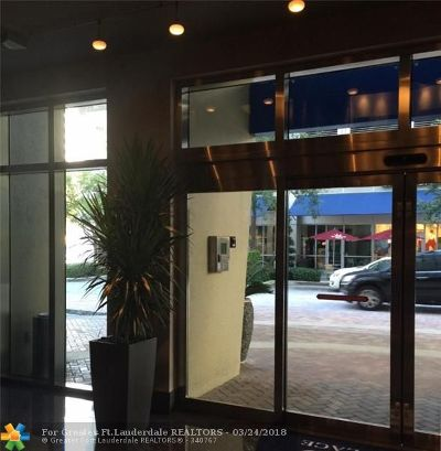 Fort Lauderdale Condo/Townhouse For Sale: 350 SE 2nd St #2220