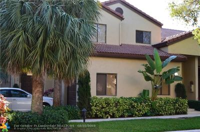 Plantation Condo/Townhouse For Sale: 1004 NW 105th Ave #1004