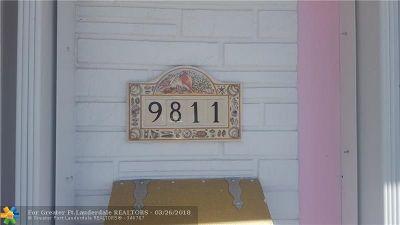 Miami Single Family Home Backup Contract-Call LA: 9811 SW 13th Ter