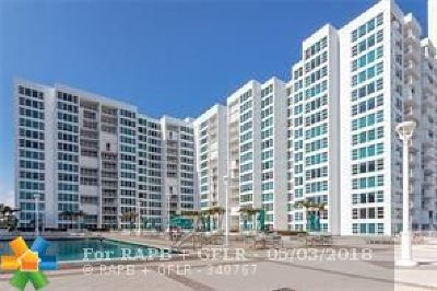 Lauderdale By The Sea Condo/Townhouse For Sale: 1620 S Ocean Blvd #10L