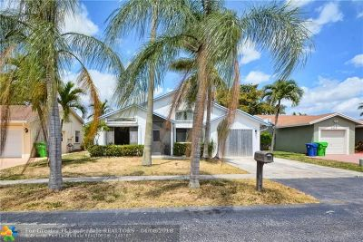 Sunrise Single Family Home For Sale: 9327 NW 53rd St