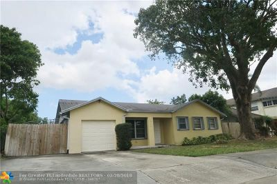 North Lauderdale Single Family Home For Sale: 1905 SW 82nd Ave