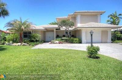 Lauderdale By The Sea Single Family Home For Sale: 1741 W Terra Mar Dr