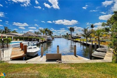 Pompano Beach Single Family Home For Sale: 850 SE 5th Ct