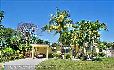 Wilton Manors Single Family Home For Sale: 1417 NE 27th St