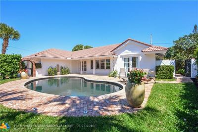Fort Lauderdale Single Family Home For Sale: 4508 NE 22nd Rd