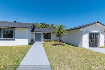 Miami Single Family Home For Sale: 10521 SW 166th St