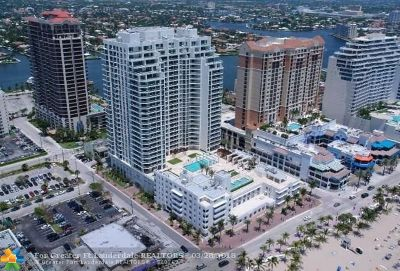 Fort Lauderdale Condo/Townhouse For Sale: 101 S Fort Lauderdale Beach Blvd #807