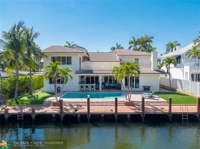 Fort Lauderdale Single Family Home For Sale: 68 Fiesta Way