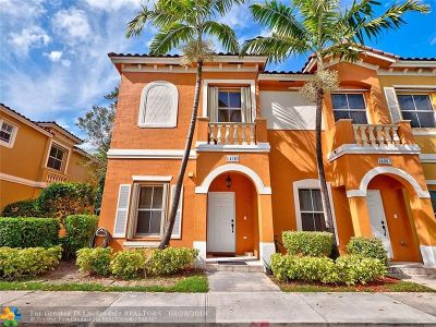 Miramar Condo/Townhouse For Sale: 14065 SW 49th St #1
