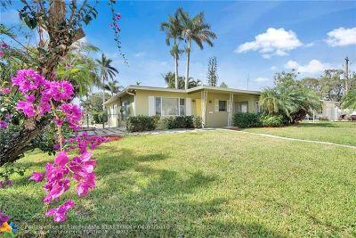 Dania Beach Single Family Home For Sale: 106 NE 2nd Pl