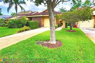 Coconut Creek Single Family Home For Sale: 2525 Dahoon Ave
