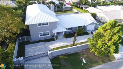 Fort Lauderdale Single Family Home For Sale: 2400 NE 37th Dr