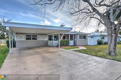 Pompano Beach Single Family Home For Sale: 1508 SE 2nd St