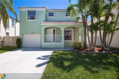 Pembroke Pines Single Family Home Backup Contract-Call LA: 349 NW 153rd Ave