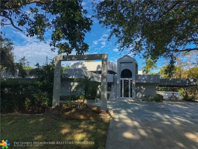 Davie Single Family Home For Sale: 2280 SW 154 Ave