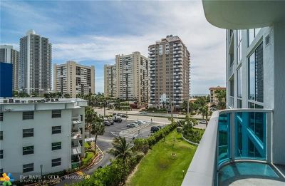 Hallandale Condo/Townhouse For Sale: 1945 S Ocean Dr #411