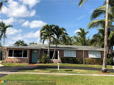 Pompano Beach Single Family Home For Sale: 111 SE 12th St