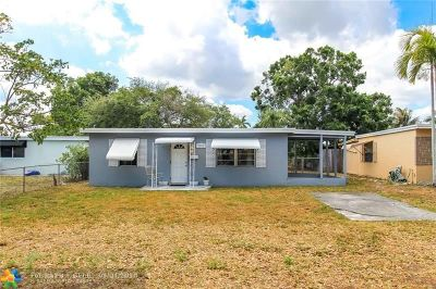 Fort Lauderdale Single Family Home Backup Contract-Call LA: 1381 SW 33rd Ter