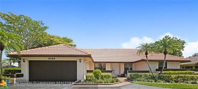 Coral Springs Single Family Home Backup Contract-Call LA: 5143 NW 87th Ter