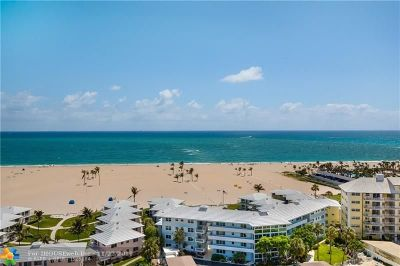 Fort Lauderdale Condo/Townhouse For Sale: 1900 S Ocean Dr #1502