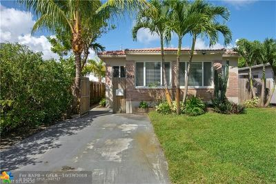 Broward County Single Family Home For Sale: 1643 Funston St