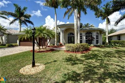Coral Springs Single Family Home Backup Contract-Call LA: 6124 NW 123rd Ln